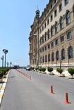 Vecchia stazione ferroviaria a Costantinopoli Fotografie Stock