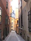Vecchia Stoccolma Fotografia Stock Libera da Diritti