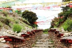 vecchia strada del tè 3000years Fotografia Stock Libera da Diritti