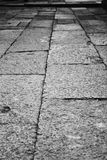 Vecchia strada di pietra Immagini Stock