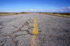 Vecchia strada principale, Utah immagine stock