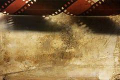 Vecchia striscia della pellicola Fotografia Stock Libera da Diritti