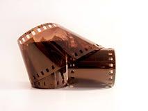 Vecchia striscia della pellicola immagine stock