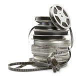 Vecchia striscia di pellicola immagini stock