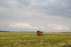 Vecchia strumentazione dell'azienda agricola Fotografia Stock Libera da Diritti