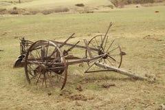 Vecchia strumentazione dell'azienda agricola Fotografie Stock