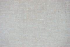 Vecchia struttura beige della tela Immagine Stock