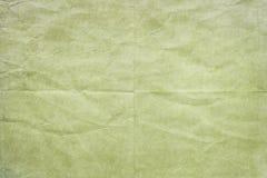 Vecchia struttura corrugata del Libro Verde Fotografia Stock Libera da Diritti