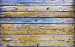 Vecchia struttura del bordo di legno Fondo della plancia dell'albero Reticolo immagine stock libera da diritti