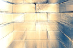 Vecchia struttura del mattone Immagini Stock Libere da Diritti