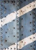 Vecchia struttura del metallo Immagine Stock