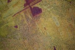 Vecchia struttura del metallo di lerciume Fotografie Stock Libere da Diritti