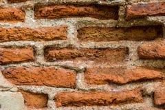 Vecchia struttura del muro di mattoni Modello architettonico Fotografia Stock