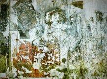 Vecchia struttura della parete di lerciume Immagine Stock