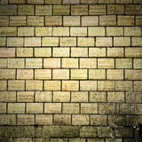Vecchia struttura della parete di mattoni di Grunge Fotografia Stock Libera da Diritti