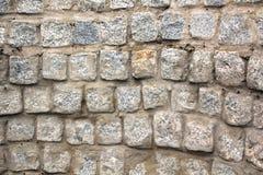 Vecchia struttura della parete di pietra Fotografie Stock Libere da Diritti