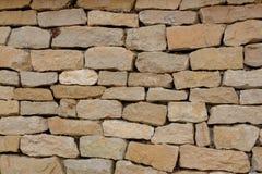 Vecchia struttura della parete di pietra Immagini Stock Libere da Diritti