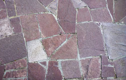 Vecchia struttura della parete della muratura Parete di pietra del castello Immagini Stock Libere da Diritti
