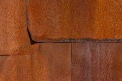 Vecchia struttura della ruggine del ferro del metallo Alcuni rivestono di ferro gli strati fotografie stock libere da diritti