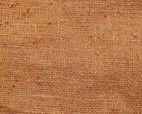 Vecchia struttura della tela di canapa del panno di sacco Immagini Stock