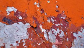 Vecchia struttura della vernice Fotografie Stock