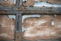 Vecchia struttura della vernice e di legno fotografie stock libere da diritti
