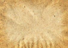 Vecchia struttura di carta Immagini Stock