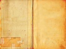 Vecchia struttura di carta di alta risoluzione Fotografia Stock Libera da Diritti