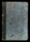 Vecchia struttura di cuoio approssimativa del libro fotografia stock
