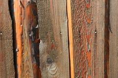 Vecchia struttura di legno approssimativa Fotografie Stock