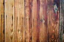 Vecchia struttura di legno approssimativa delle plance Fotografie Stock