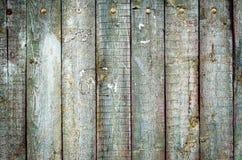 Vecchia struttura di legno approssimativa delle plance Fotografia Stock