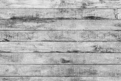 Vecchia struttura di legno bianca d'annata del fondo, pavimento di legno senza cuciture t immagini stock