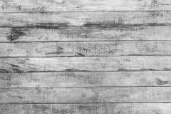 Vecchia struttura di legno bianca d'annata del fondo, pavimento di legno senza cuciture t Fotografia Stock