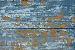 Vecchia struttura di legno con una pittura misera Fotografia Stock Libera da Diritti