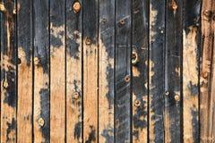 Vecchia struttura di legno del bordo del granaio immagini stock libere da diritti