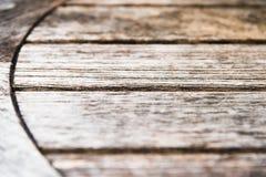 Vecchia struttura di legno del fondo della tavola Fotografia Stock
