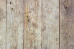 Vecchia struttura di legno del fondo delle plance Fotografia Stock