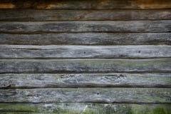Vecchia struttura di legno della parete Fotografia Stock