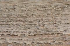 Vecchia struttura di legno della plancia sul Sun attenuato fotografie stock libere da diritti