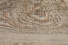 Vecchia struttura di legno della plancia sul Sun attenuato immagine stock