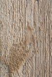 Vecchia struttura di legno della plancia sul Sun attenuato fotografie stock