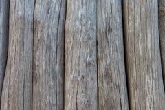 Vecchia struttura di legno della superficie della parete fotografia stock