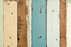 Vecchia struttura di legno delle plance Fotografia Stock
