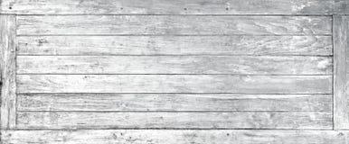 Vecchia struttura di legno di bianco della finestra Plancia bianca di legno del fondo Immagini Stock