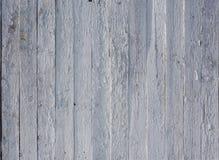 Vecchia struttura di legno dipinta bianca del fondo con parall verticale Immagini Stock