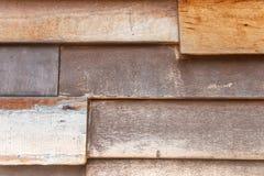 Vecchia struttura di legno marrone di sovrapposizione fotografia stock libera da diritti