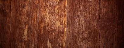 Vecchia struttura di legno marrone naturale Fotografie Stock Libere da Diritti