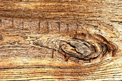Vecchia struttura di legno per i dettagli del fondo Fotografie Stock