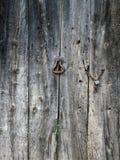 Vecchia struttura di legno reale della porta fotografia stock libera da diritti